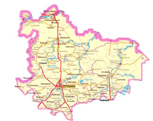 участки Лотошинский район