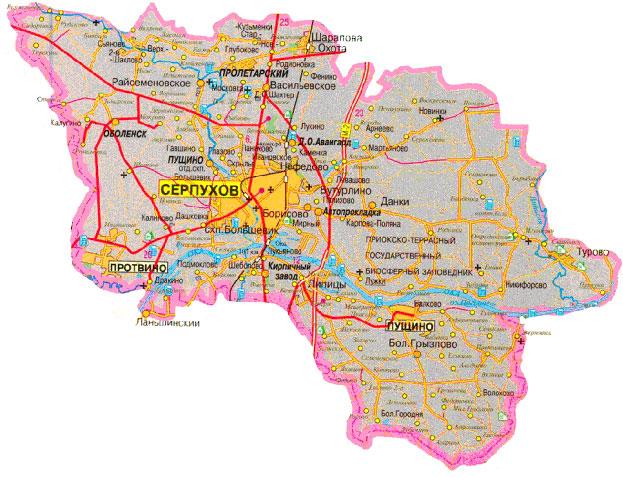 участки Серпуховский район