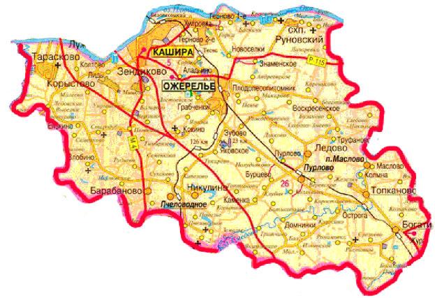 участки каширский район