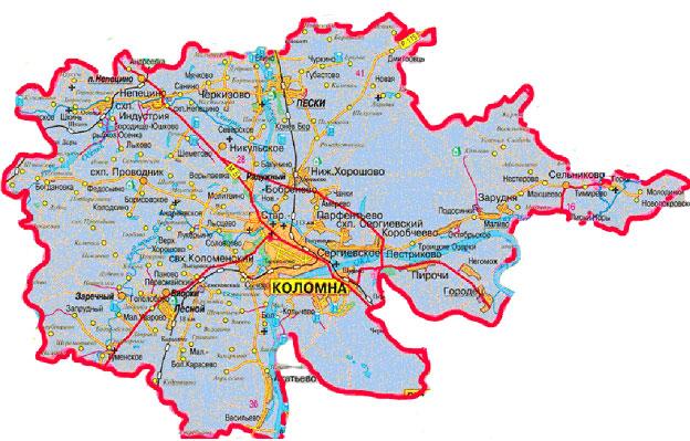 участки Коломенский район