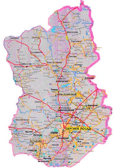 1,99 тыс.км2.  Общая площадь Сергиево-Посадского района.  Сергиев-Посад.