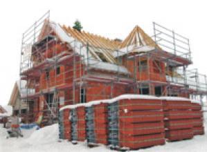 Строительство дома в Подмосковье